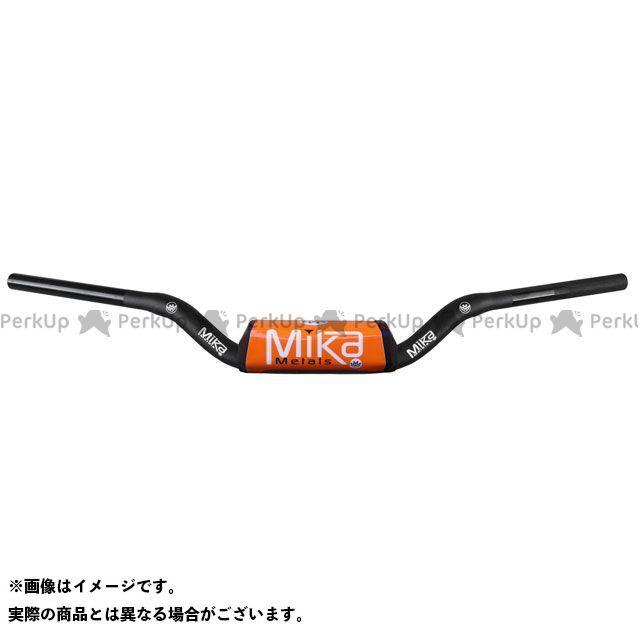 【エントリーで更にP5倍】MIKAメタルズ 汎用 ハンドル関連パーツ テーパーハンドルバー RAW シリーズ バーパッドカラー:オレンジ ベンドタイプ:MINI WIDE ミカメタルズ