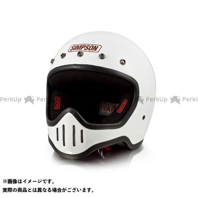 シンプソン SIMPSON フルフェイスヘルメット MODEL50 ヘルメット ホワイト 59-60cm