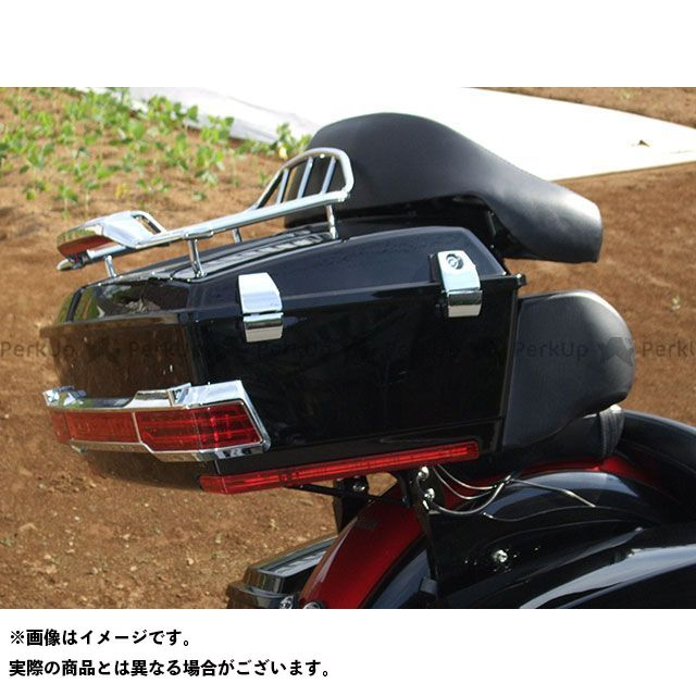【特価品】American Dreams ドラッグスター1100(DS11) ツーリング用ボックス リヤーボックスセット(黒) アメリカンドリームス