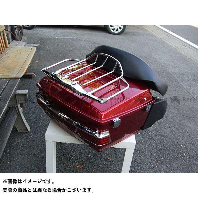 【特価品】American Dreams イントルーダークラシック400 ツーリング用ボックス リヤーボックスセット(赤) アメリカンドリームス