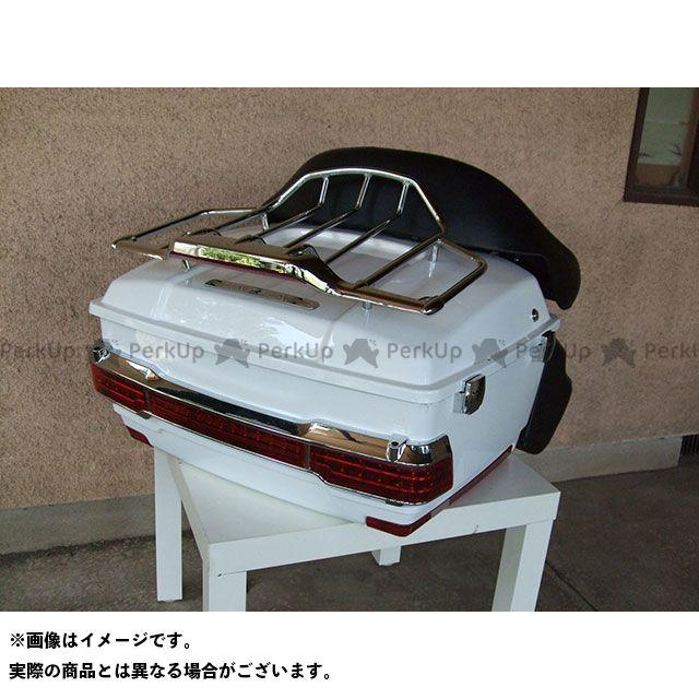 【特価品】American Dreams ドラッグスター400(DS4) ツーリング用ボックス リヤーボックスセット(白) アメリカンドリームス