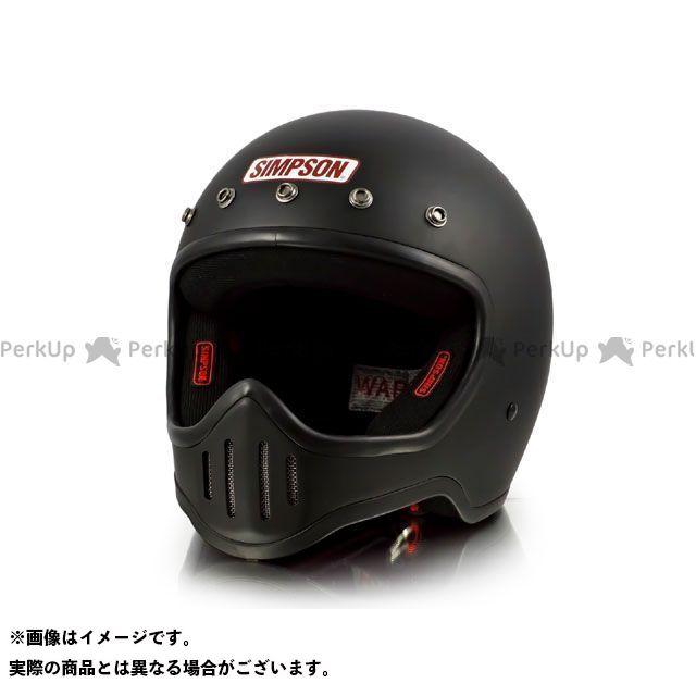 シンプソン SIMPSON フルフェイスヘルメット MODEL50 ヘルメット マットブラック 59-60cm