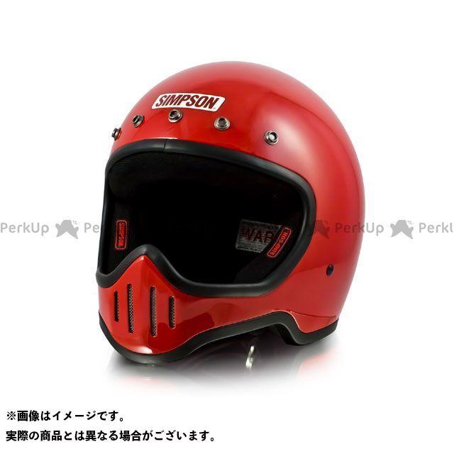 SIMPSON フルフェイスヘルメット MODEL50 ヘルメット カラー:レッド サイズ:57-58cm シンプソン