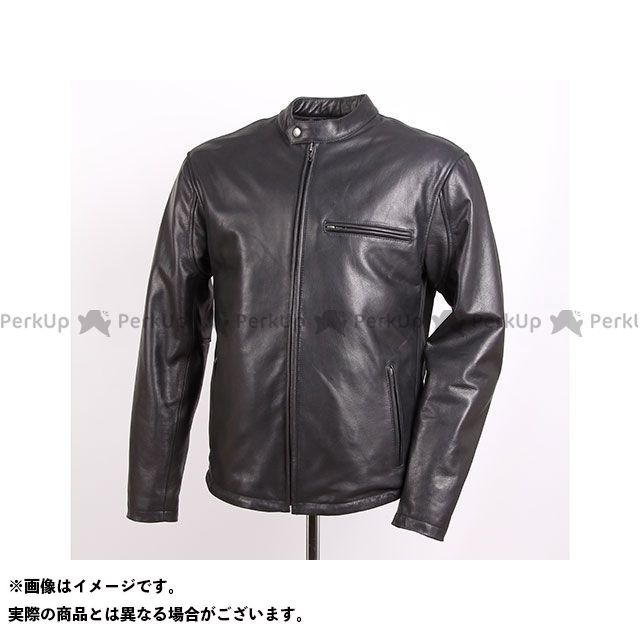 デグナー ジャケット 18WJ-5 インナー着脱可能!ライダースレザージャケット(ブラック) サイズ:M DEGNER