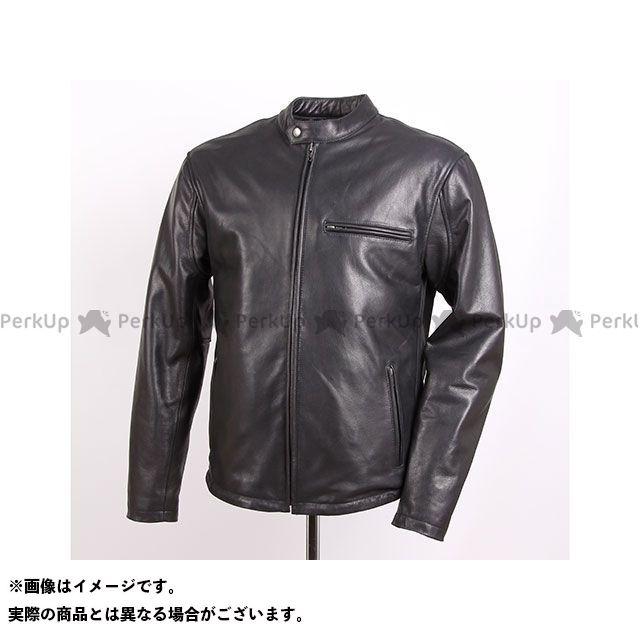 デグナー ジャケット 18WJ-5 インナー着脱可能!ライダースレザージャケット(ブラック) サイズ:L DEGNER
