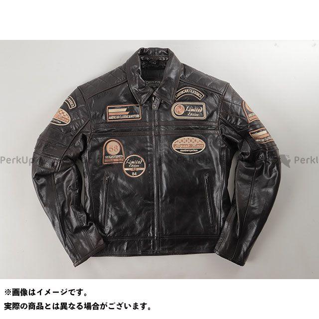 デグナー ジャケット 14WJ-3D ヴィンテージレザージャケット(ブラウン) サイズ:M DEGNER