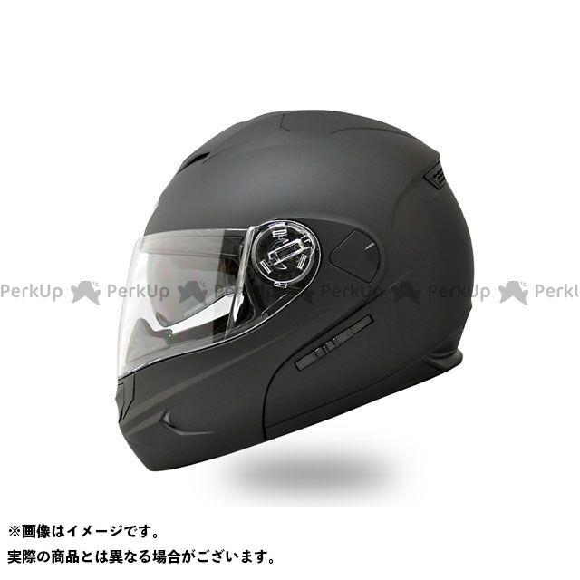 THH ティーエイチエイチ システムヘルメット(フリップアップ) T-797 インナーサンバイザー搭載モデル システムヘルメット(マットブラック) L