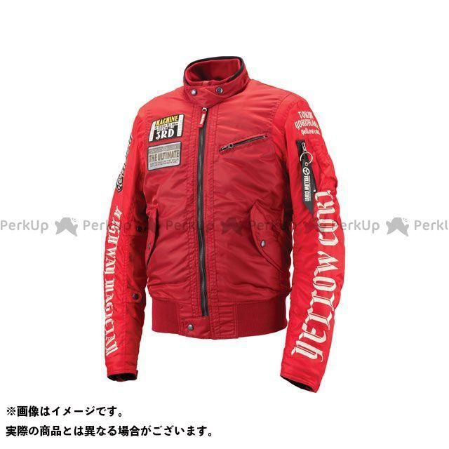 イエローコーン YeLLOW CORN ジャケット バイクウェア YeLLOW CORN ジャケット 2018-2019秋冬モデル YB-8302 ウィンタージャケット(レッド) L イエローコーン