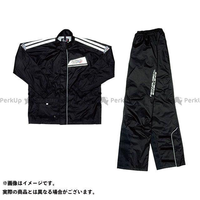 【無料雑誌付き】エルフ ライディングウェア レインウェア ELR-5291 Rain Suit(ブラック) カラー:ブラック サイズ:M elf riding wear
