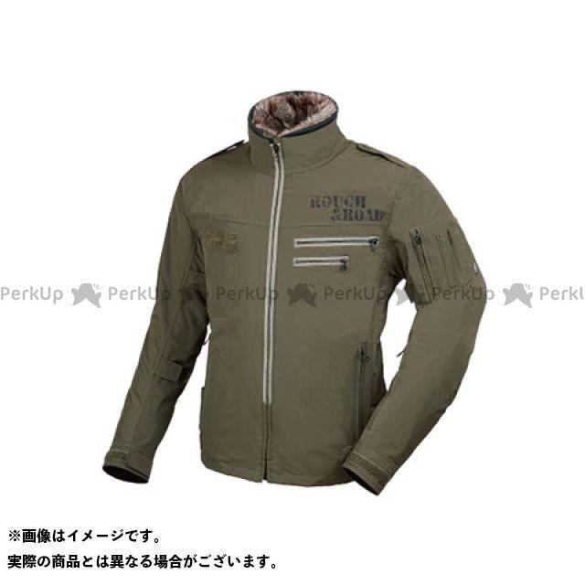 【特価品】ラフアンドロード ジャケット RR7684 フライトジャケットEM(オリーブドラブ) サイズ:LL ラフ&ロード