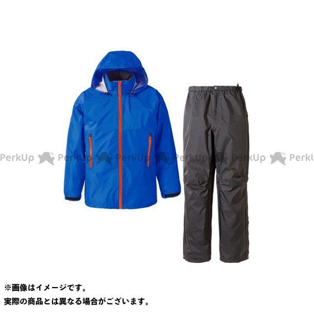 PUROMONTE アウトドア用ウェア SR136M ゴアテックス レインスーツ メンズ(ロイヤルブルー) サイズ:L プロモンテ
