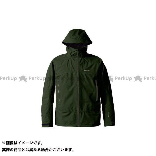 PUROMONTE アウトドア用ウェア SJ008M ゴアテックス パックライトジャケット メンズ(モスグリーン) サイズ:XL プロモンテ