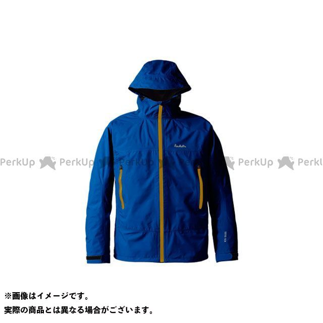 PUROMONTE アウトドア用ウェア SJ008M ゴアテックス パックライトジャケット メンズ(ネイビー) サイズ:XL プロモンテ