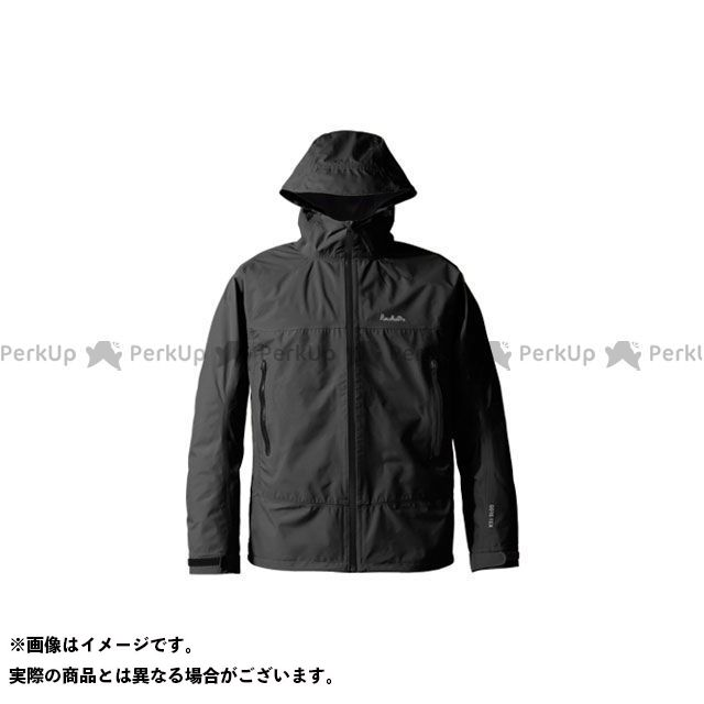 送料無料 プロモンテ PUROMONTE アウトドア用ウェア SJ008M ゴアテックス パックライトジャケット メンズ(ブラック) 3L