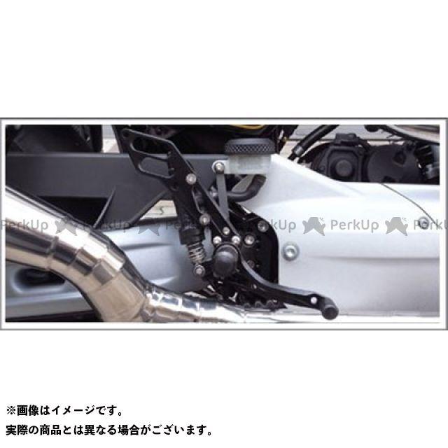 【無料雑誌付き】Tramp Cycle スポーツスター XR1200 バックステップ関連パーツ TB-018B バックステップキット XR1200 ブラックアルマイト トランプ