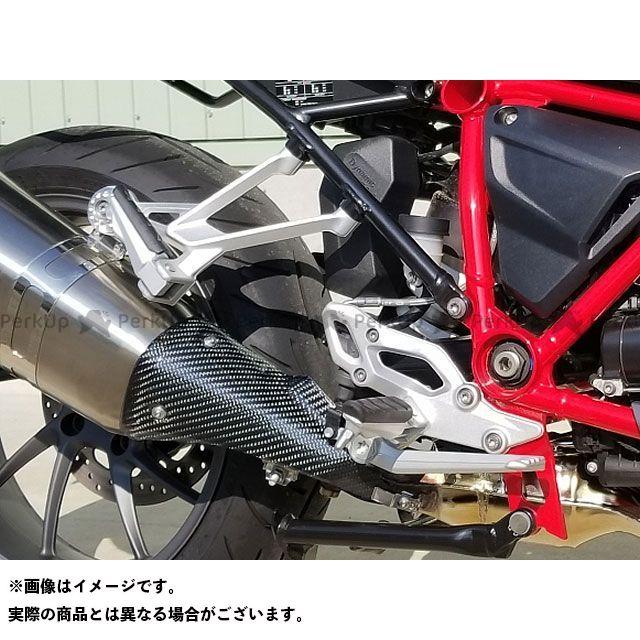 FEED SPORTS JAPAN R1200R R1200RS マフラーカバー・ヒートガード マフラーヒートガード カーボン製 FSJ