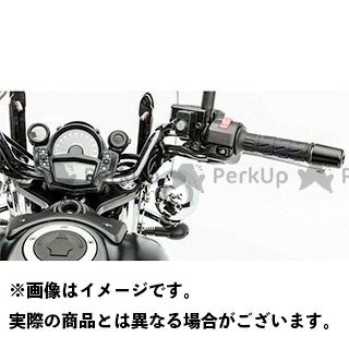 KAWASAKI バルカンS ハンドル関連パーツ ハンドルバー カラー:シルバー タイプ:約50mm幅広・約40mm前方 カワサキ