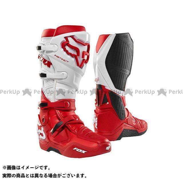フォックス オフロードブーツ インスティンクト 2.0 ブーツ(レッド) サイズ:11/27.5cm FOX