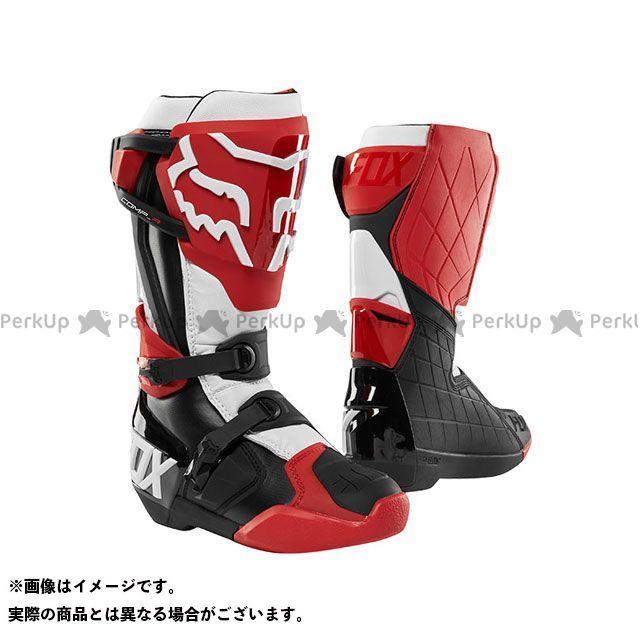 フォックス オフロードブーツ コンプ-R ブーツ(レッド/ブラック/ホワイト) サイズ:10/27.0cm FOX