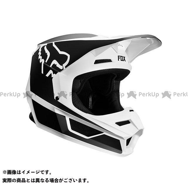 送料無料 FOX フォックス オフロードヘルメット V1 プリズム ヘルメット(ブラック/ホワイト) L/59-60cm