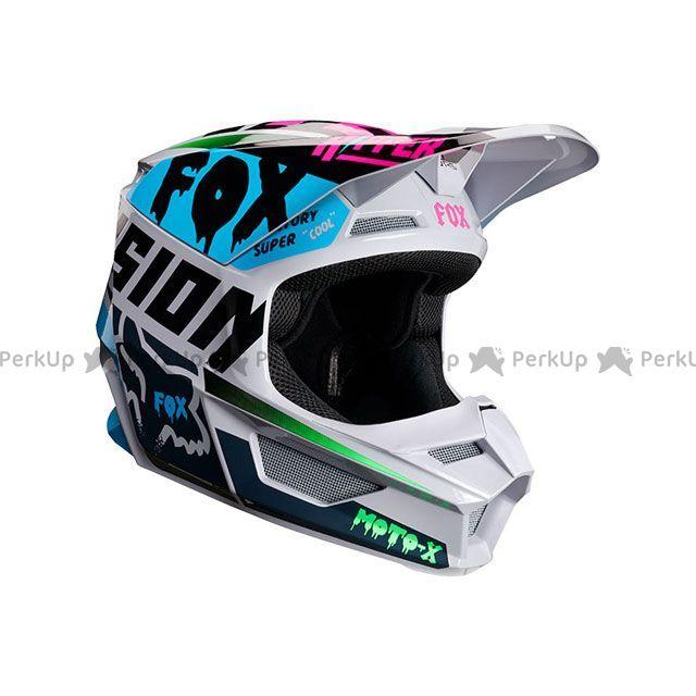 送料無料 FOX フォックス オフロードヘルメット V1 ツァール ヘルメット(ライトグレー) XL/61-62cm