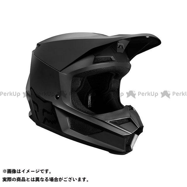送料無料 FOX フォックス オフロードヘルメット V1 マット ヘルメット(マットブラック) S/55-56cm