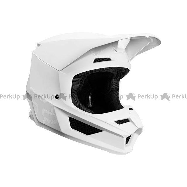 送料無料 FOX フォックス オフロードヘルメット V1 マット ヘルメット(ホワイト) M/57-58cm
