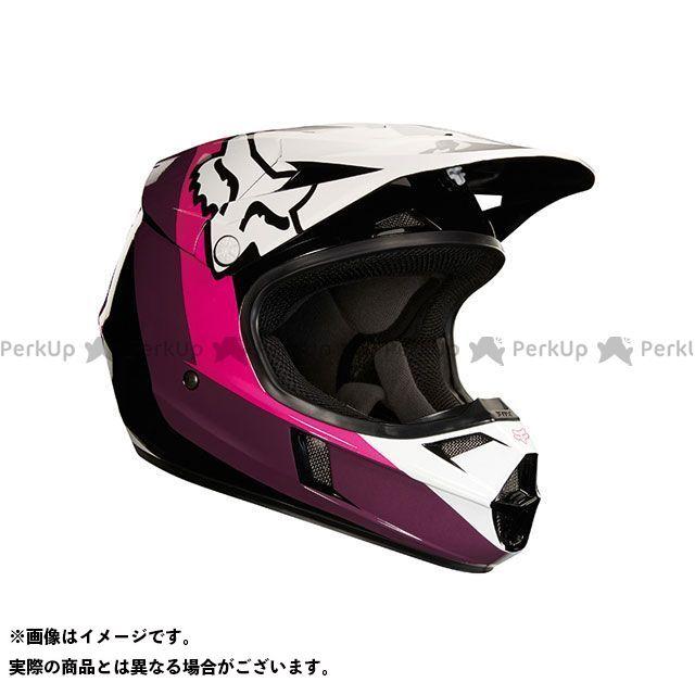 フォックス オフロードヘルメット V1 ユース ハリン ヘルメット(ブラック/ピンク) YM/49-50cm FOX