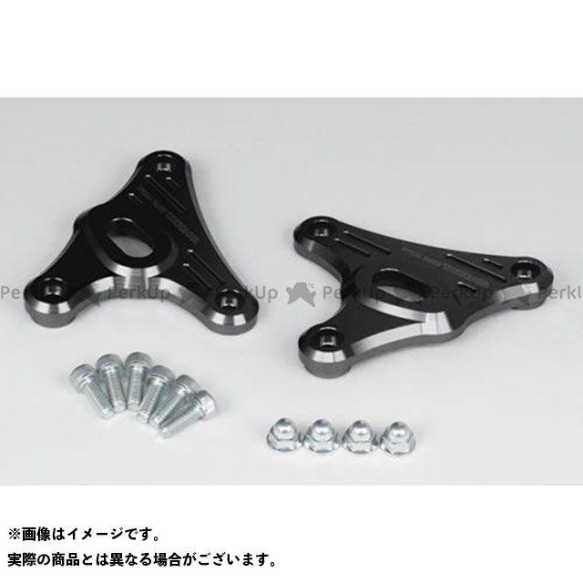 送料無料 TAKEGAWA モンキー125 電装ステー・カバー類 ヘッドライトステー(ブラック)