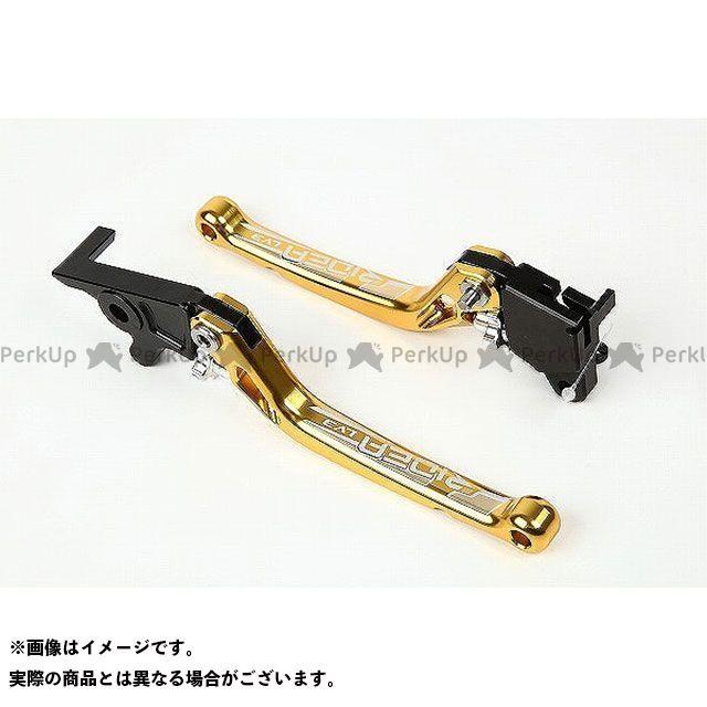 【特価品】RIDEA GSX-R125 GSX-S125 レバー ノブアジャストブレーキレバー 左右セット(ゴールド) リデア