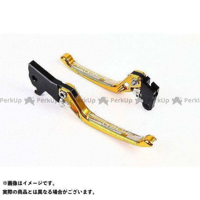 【特価品】RIDEA GSX-R125 GSX-S125 レバー 3Dノブアジャストブレーキレバー 左右セット(ゴールド) リデア
