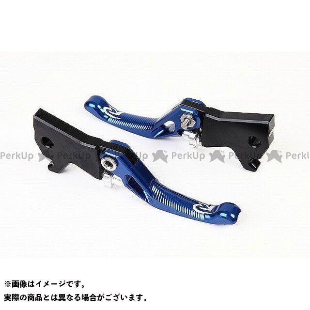 【特価品】RIDEA グロム モンキー125 レバー 3Dショートノブアジャストブレーキレバー 左右セット(ブルー) リデア