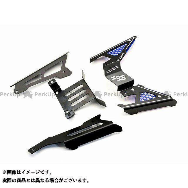 【特価品】RIDEA TMAX530 ドレスアップ・カバー ベルトカバー(ブルー) リデア