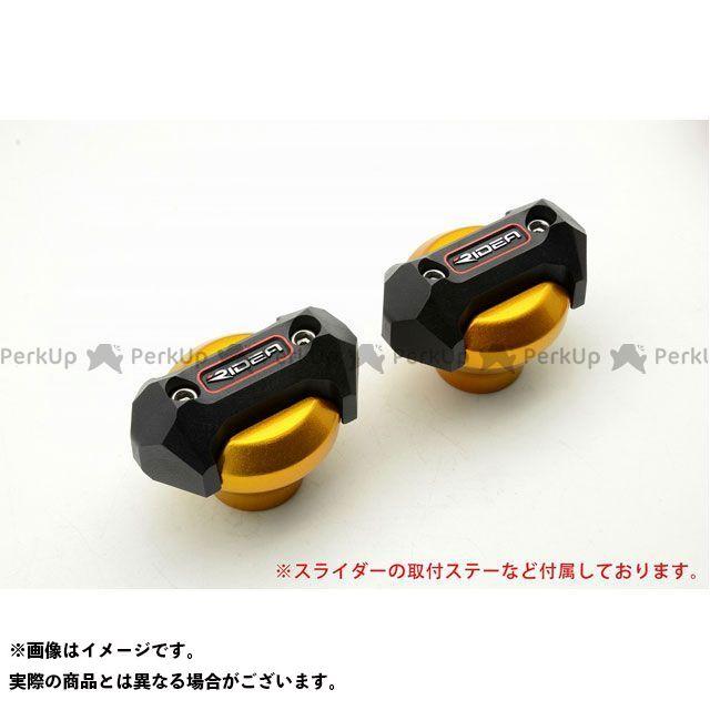 送料無料 RIDEA GSX-R1000 スライダー類 フレームスライダー メタリックタイプ(ゴールド)