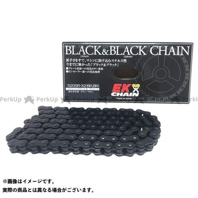 送料無料 イーケーチェーン 汎用 チェーン関連パーツ ブラック&ブラック チェーン 520SR-X2(BK/BK) MLJ 11月30日発売予定 150L