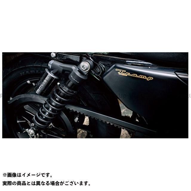 Tramp Cycle スポーツスターファミリー汎用 その他サスペンションパーツ リアショック アブソーバー/スポーツスターEVO-2003年用 330mm (+10mm) オプション:延長エンドアイ +10mm(2個セット) トランプ