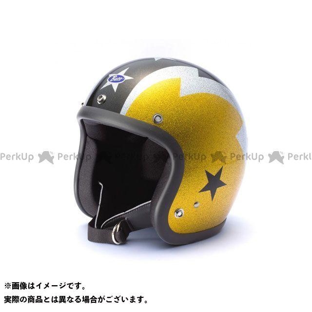 送料無料 BUCO ブコ ジェットヘルメット エクストラブコ サンダーボルト(ゴールド/ブラック) L(60-61)
