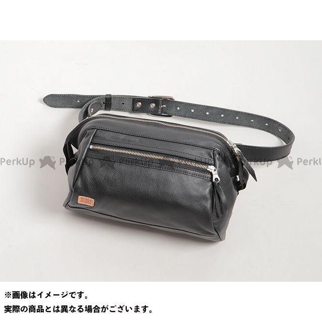 デグナー ツーリング用バッグ W-102 レザーワンショルダーバッグ(ブラック) DEGNER