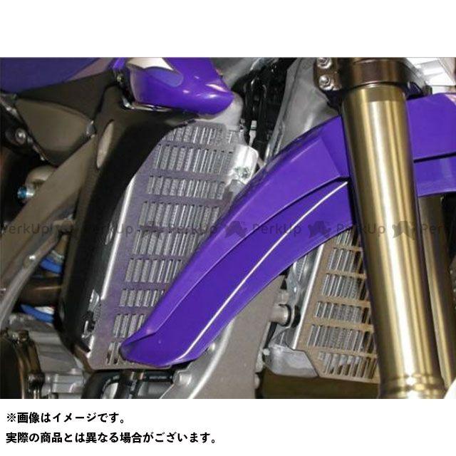 FLATLAND RACING WR450F YZ450F その他のモデル ラジエター関連パーツ FLR ラジエターガード YAMAHA 400~