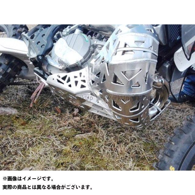 ピーテック スライダー類 スキッド+チャンバーガード KTM250 EXC/XC and Husqvarna TE250 2017-2018 P-TECH