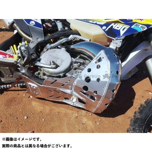 ピーテック スライダー類 スキッド+チャンバーガード KTM Husaberg Husqvarna 2ST 2007- P-TECH