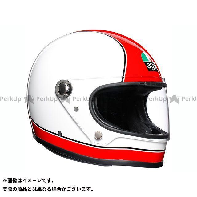 送料無料 AGV エージーブイ フルフェイスヘルメット X3000 008-SUPER RED/WHITE XL