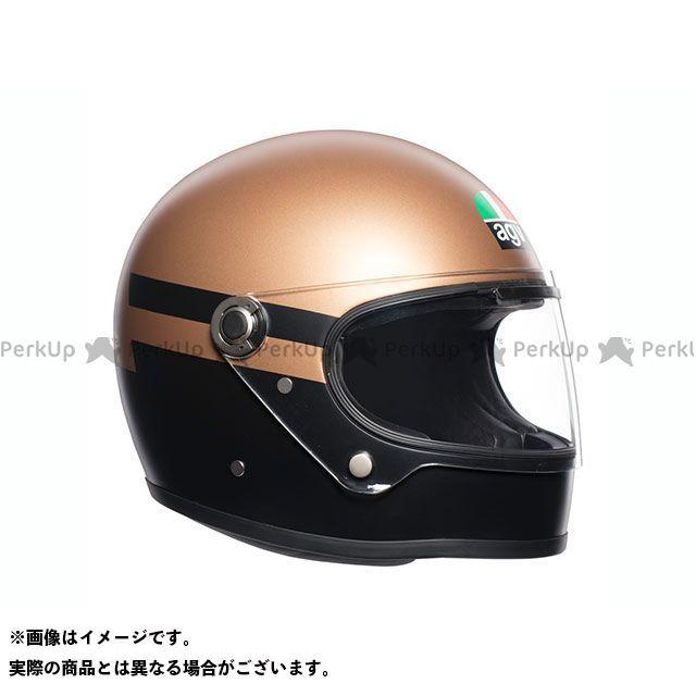 エージーブイ フルフェイスヘルメット X3000 010-SUPERBA GOLD/BLACK サイズ:XL AGV