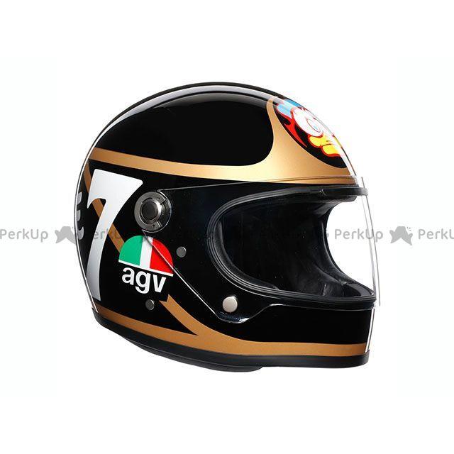 送料無料 AGV エージーブイ フルフェイスヘルメット X3000 002-BARRY SHEENE L