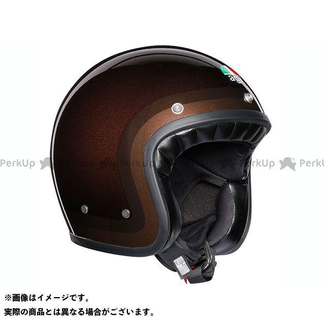 エージーブイ ジェットヘルメット X70 002-TROFEO CHOCOLATE XL AGV