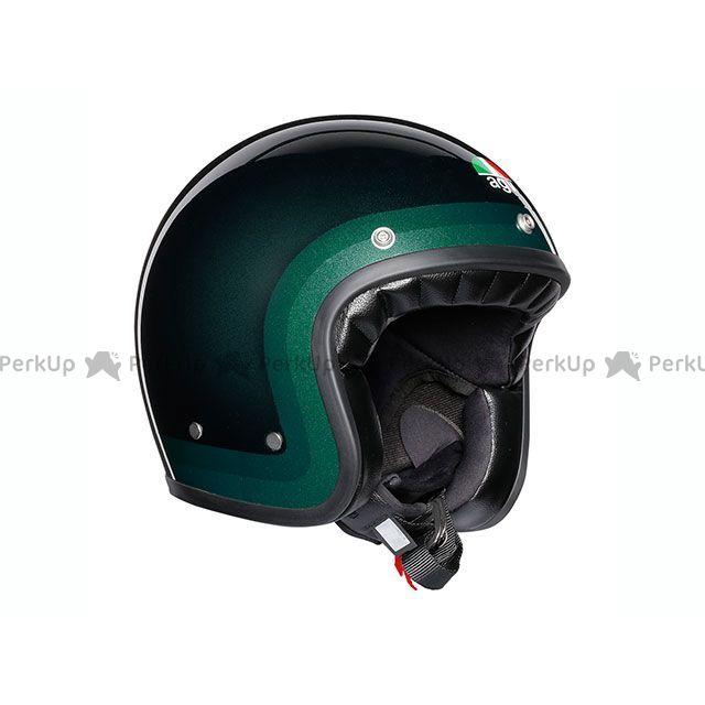 送料無料 AGV エージーブイ ジェットヘルメット X70 006-TROFEO GREEN XL