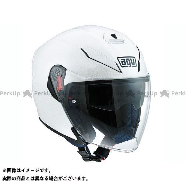 送料無料 AGV エージーブイ ジェットヘルメット K-5 JET 005-PEARL WHITE M