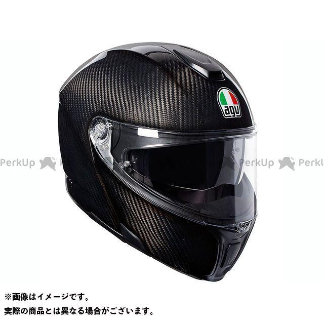 エージーブイ システムヘルメット(フリップアップ) SPORTMODULAR 002-GLOSSY CARBON サイズ:L AGV