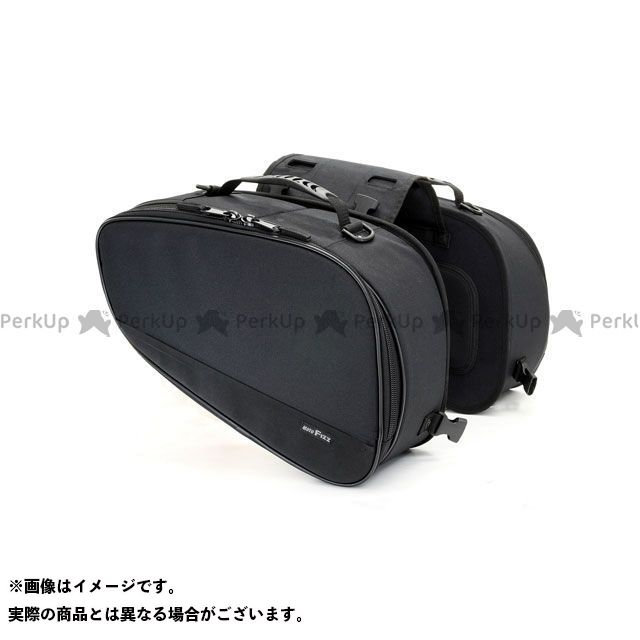 TANAX ツーリング用バッグ MOTO FIZZ マルチフィットサイドバッグM(ブラック) タナックス