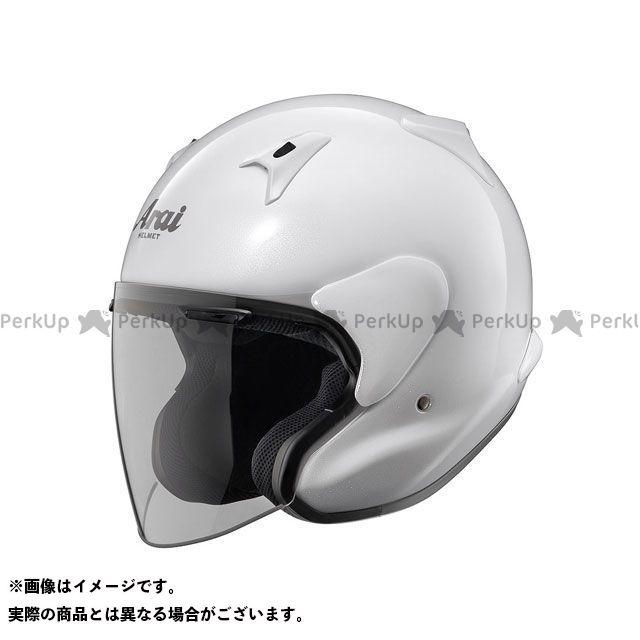 送料無料 アライ ヘルメット Arai ジェットヘルメット MZ-F グラスホワイト 55-56cm
